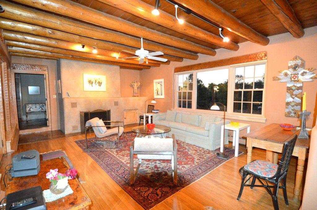 Taos Real Estate 211 Morada Lane TAOS MLS 96527 Living Room