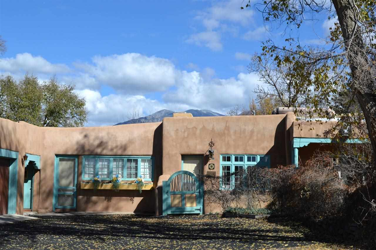 Taos Real Estate 131 San Antonio St TAOS MLS 96139 Outside