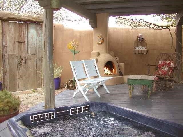 Taos Real Estate 131 San Antonio St TAOS MLS 96139 Hot Tub