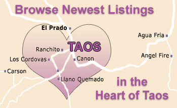 Browse Listings in the Heart of Taos